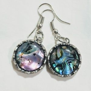Jewelry - Handcrafted Abalone earrings